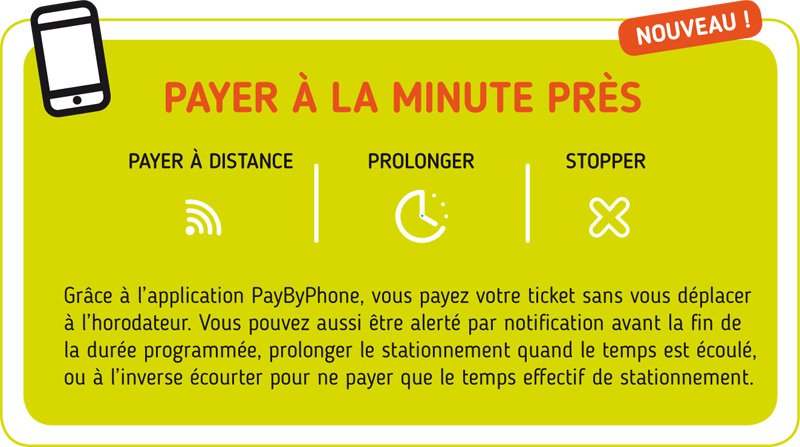 Stationnement : pay by phone